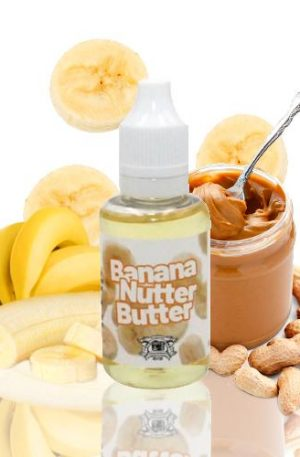Es una mezcla perfecta de mantequilla de plátano y cacahuete.
