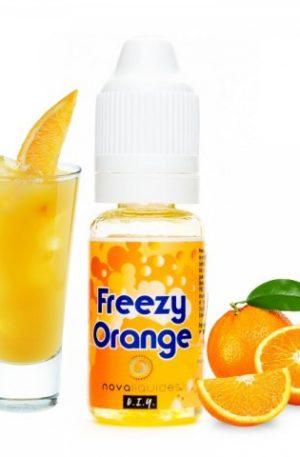 una refrescante y conocida bebida de naranja.