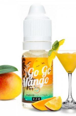 exótico cóctel de mango que te embarcará a una isla paradisíaca.