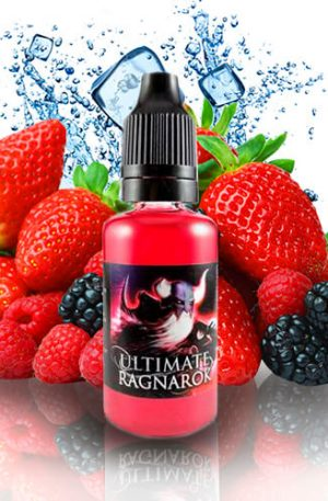 frutas rojas como fresas y moras, frambuesas y arándanos,