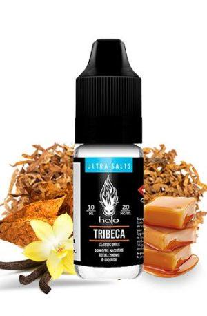 Es el clásico tribeca sabor a tabaco muy suave y propio con sales de nicotina.