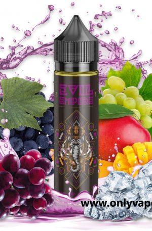 Suave y dulce mezcla de Uva y Mango con efecto frío, ideal para refrescarte en los infernales días de verano.