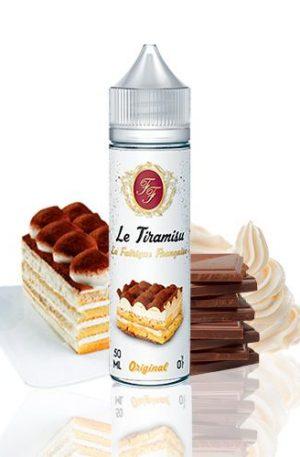 Un delicioso postre de cacao y café cubierto decremosa crema de mascarpone con toques de azúcar moreno y vainilla!